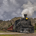 Cumbres And Toltec Railroad Crossing Nm Dsc04057 by Greg Kluempers
