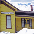Cumbres Train Station by Jo Mujica