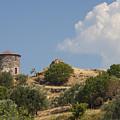 Cunda Island Greek Windmill by Bob Phillips