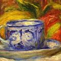 Cup And Fruit by Renoir PierreAuguste