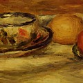 Cup Lemon And Tomato by Renoir PierreAuguste