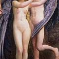 Cupid And Psyche by Annie Louisa Swynnerton