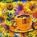 Cuppa Van Gogh 2015 by Kathryn Strick