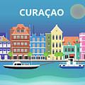 Curacao Horizontal Scene by Karen Young