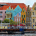 Curacao Willemstad Panorama by Eva Kaufman