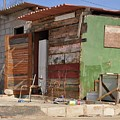 Curacao Wooden Shack  by Suprema Angelica