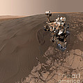 Curiosity Rover Self-portrait by Science Source