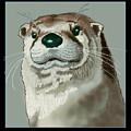 Curious Otter by Jey Manokaran