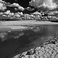 Curl Curl Beach With Dramatic Sky by Sheila Smart Fine Art Photography