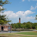 Currituck Lighthouse From Heritage Park by Don Wilhour