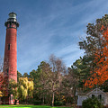 Currituck Lighthouse  by Mary Almond