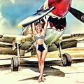 Curtis P-40 Warhawk by Robert Alvarado