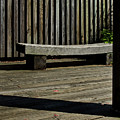 Curved Bench by Murray Bloom