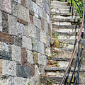 Curved Stone Staircase 235 by Maria Struss