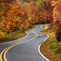 Curvy Road In The Mountains by Jill Lang