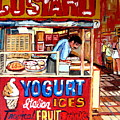 Custard Cart by Carole Spandau
