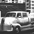 Custom Chevy Asbury Park Nj Black And White by Terry DeLuco