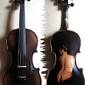 Custom Gliga Violin 2 by Dino Muradian