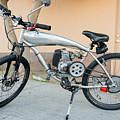 Custom Made Motor Bike by Robert VanDerWal