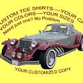 Custom Tee Shirts by Jack Pumphrey
