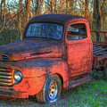 Customized Rust 1949 Ford Pickup Truck by Reid Callaway