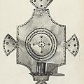 Cut Tin Candle Holder by Irene M. Burge