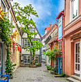 Cute And Colorful European Houses by JR Photography