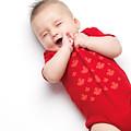 Cute Baby Boy Yawning by Oleksiy Maksymenko