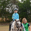 Cute Girl On Horse 3 by Scott Robertson
