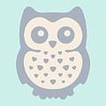Cute Owl by Julia Jasiczak
