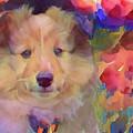 Cute Puppy by Lilia D