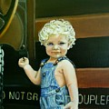 Cutie By The Train by Janet Guss