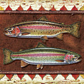 Cutthroat and Rainbow Trout Lodge by JQ Licensing
