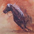 Cutting Horse I by Pam Froemke