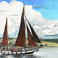 Cutty Sark by Perry Woodfin