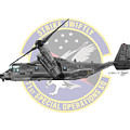 Cv-22b Osprey 71sos by Arthur Eggers