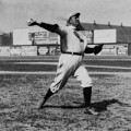 Cy Young With The Boston Americans 1908 by Library Of Congress