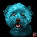 Cyan West Highland Terrier Mix - 8674 - Bb by James Ahn