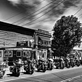 Cycles In Old Forge by David Patterson