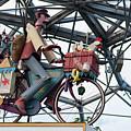 Cycling Automaton No. 2 by Helen Northcott