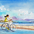 Cycling In Port De Pollenca In Majorca by Miki De Goodaboom
