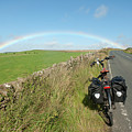 Cycling To The Rainbow by Richard Wareham