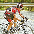 Cyclist by Jan Tyler