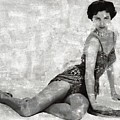 Cyd Charisse Hollywood Actress And Dancer by Mary Bassett