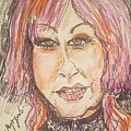 Cyndi Lauper by Geraldine Myszenski