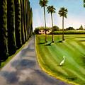 Cypress Palms by Elizabeth Robinette Tyndall