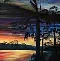 Cypress Sunset by Rachel McClure