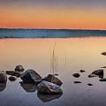 Cyprus Lake Sunset by Tracy Munson