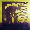 D U Rounds Project, Print 15 by Erik Paul