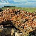 D14579 Rock On Top Of Ja Volcano by Ed Cooper Photography